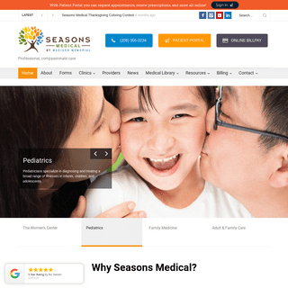 Seasons Medical - Healthcare You Can Trust