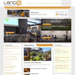 Landscape Architecture for Landscape Architects - Land8