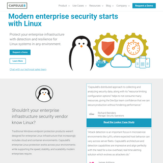 Enterprise Linux Security for Modern Infrastructure - Capsule8