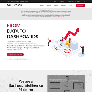 The Power of Your Data in Beautiful Dashboards - ClicData