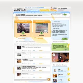 Das größte deutsche Fun-Portal gegen Langeweile - lustig, lachen, witzig - lustich.de