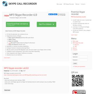 MP3 Skype Recorder - Free Skype call recorder