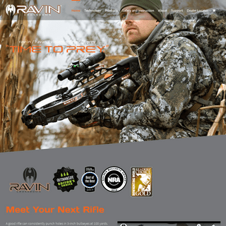 ArchiveBay.com - ravincrossbows.com - Ravin Crossbows - Powered by HeliCoil Technology