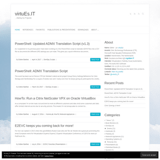 virtuEs.IT - ... sharing my IT Quests