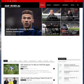 SGE4EVER.de - Das Onlinemagazin über Eintracht Frankfurt - Aktuelle News und Diskussionen rund um den Fußball-Bundesligisten E