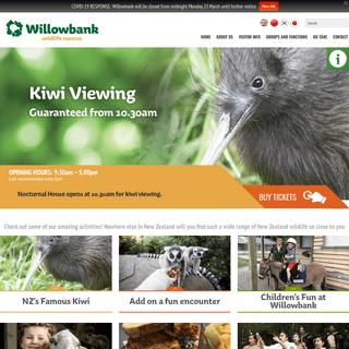 Willowbank Wildlife Reserve - Christchurch, New Zealand