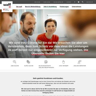 Wiener ArbeitnehmerInnen Förderungsfonds – waff