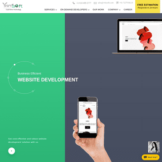 ᐅ Vrinsoft- Mobile App Development Company, Android and iPhone App Development India, USA