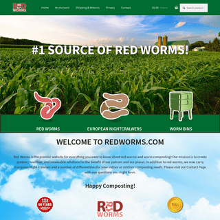 Red Worms – Home of Worm Composting