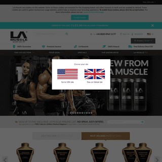 Premium Bodybuilding & Sports Nutrition Supplements For Muscle Gain & Weight Loss - Lamuscle.com