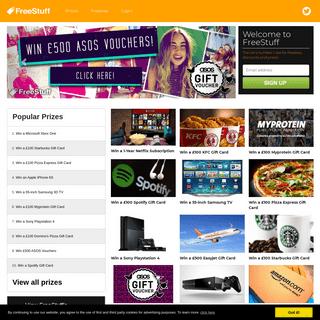 ArchiveBay.com - freestuff.eu - Free Stuff - Win Prizes, Freebies and Samples