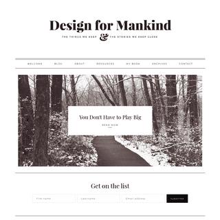 Home - Design For Mankind