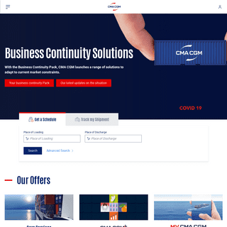 CMA CGM - Business Continuity Solutions
