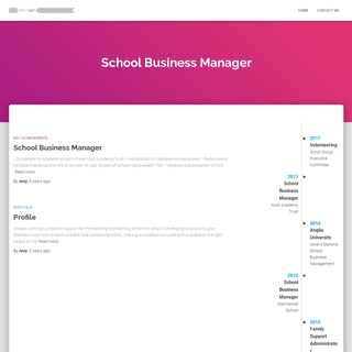 Amy Gibbs – School Business Manager