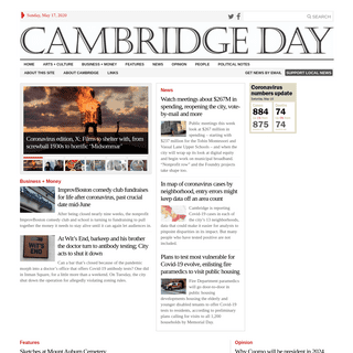 Cambridge Day - News - Features - Commentary - Calendar