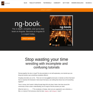 ng-book- The Complete Book on AngularJS