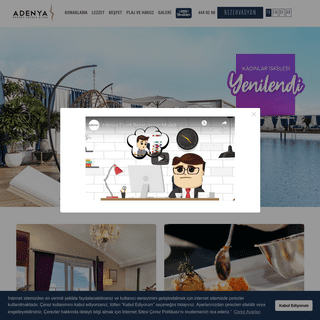 Adenya Resort Hotels & Spa - Helal Belgeli İslami Otel