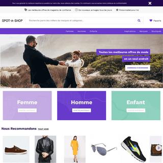 Vêtements et chaussures EN PROMO en ligne - Maintenant jusqu'à -60- - SPOT-A-SHOP