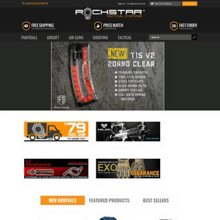 ArchiveBay.com - rockstartactical.com - ROCKSTAR Tactical Systems - MagFed Paintball - Airsoft Guns - Air Guns - Tactical Gear