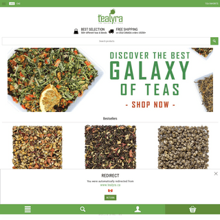Loose leaf tea - Buy tea online - Tealyra Store