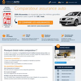 Minute-Auto.fr - Comparez 12 assurances auto