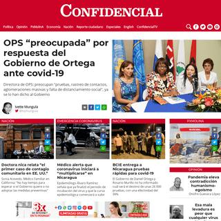 ArchiveBay.com - confidencial.com.ni - Confidencial - Noticias de Nicaragua, investigaciones y análisis