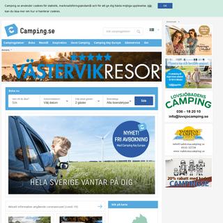 Camping.se - Semester i Sverige - Boka camping