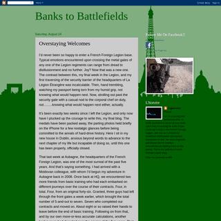 Banks to Battlefields