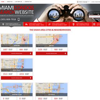 Miami Condos Search Website