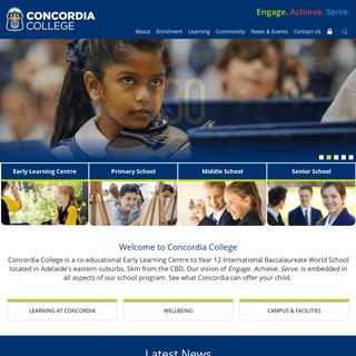 Concordia College - Co-educational Private School, Adelaide