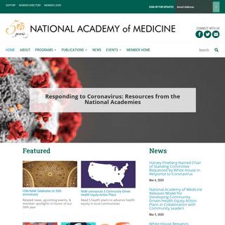 Home - National Academy of Medicine