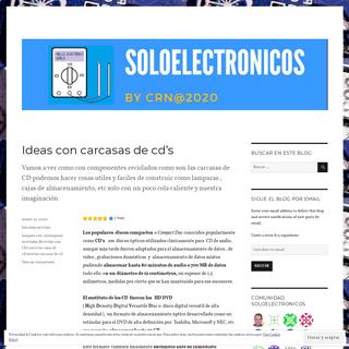 Soloelectronicos.com – Comprender, construir, reparar y disfrutar de nuestro mundo tecnológico