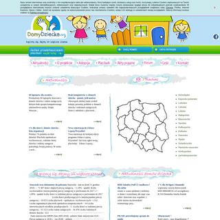 Domy Dziecka - Ogólnopolski Portal Domów Dziecka - znajdź Dom Dziecka