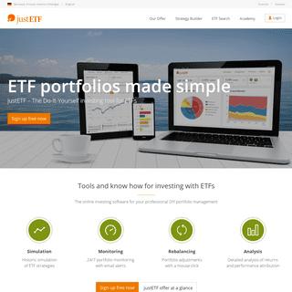 ArchiveBay.com - justetf.com - ETF portfolios made simple - justETF