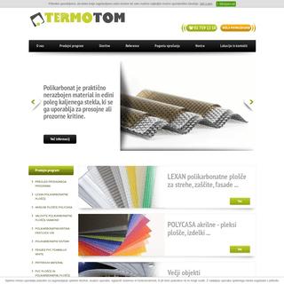 Termotom - polikarbonatne plošče Lexan, polikarbonat, pleksi steklo