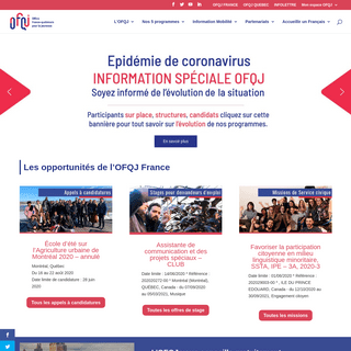 OFQJ France - Office franco-québécois pour la jeunesse