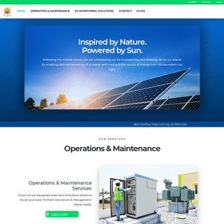 Solar OMS - Operation and Maintenance - Avi Solar