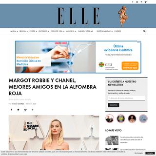 Margot Robbie y Chanel, mejores amigos en la alfombra roja - ELLE
