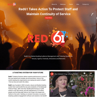 ArchiveBay.com - red61.com - Red61 - A Ticketing System for Your Future