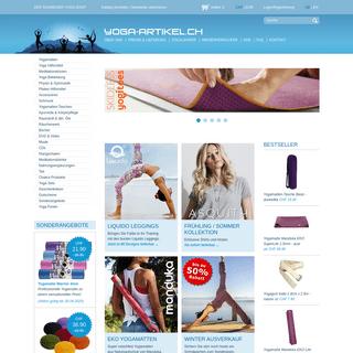 Yoga-Artikel.ch - Der Schweizer Shop für Yoga & Meditation