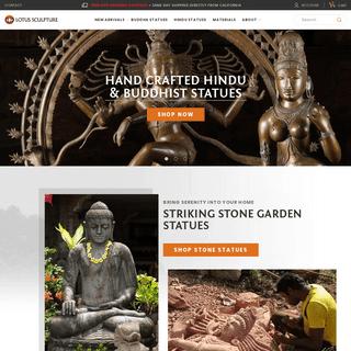 Buddha Statues, Hindu Sculptures, Shiva, Ganesha, Lakshmi Hand Made