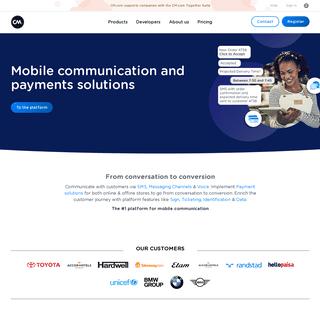 CM.com - Conversational Commerce