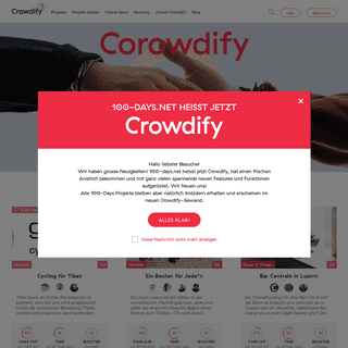 crowdify.net - Crowdfunding für alle