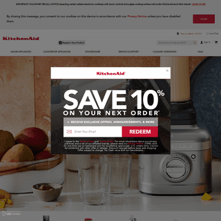 Kitchen Appliances to Bring Culinary Inspiration to Life - KitchenAid