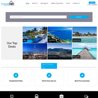 Book flight tickets, hotels, vacations and more- TravelStall