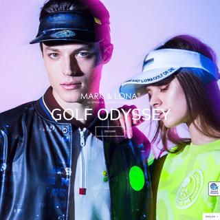 MARK & LONA-Official Mark & Rona Website - Luxury Golf Wear Brand