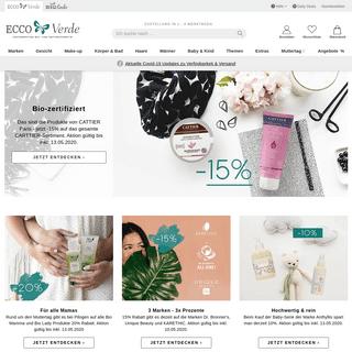 Ecco Verde - Ihr Bio- und Naturkosmetik Onlineshop