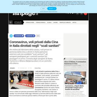 ArchiveBay.com - www.fanpage.it/attualita/coronavirus-voli-privati-dalla-cina-in-italia-dirottati-negli-scali-sanitari/ - Coronavirus, voli privati dalla Cina in Italia dirottati negli scali sanitari