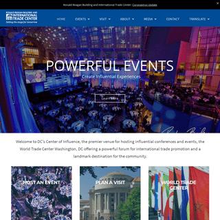 Explore & Schedule Events in Washington D.C.