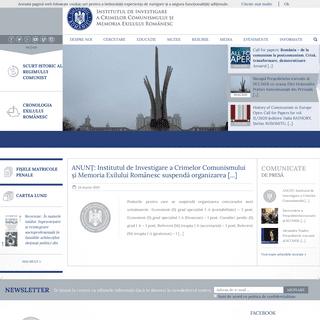 IICCMER - Institutul de Investigare a Crimelor Comunismului și Memoria Exilului Românesc